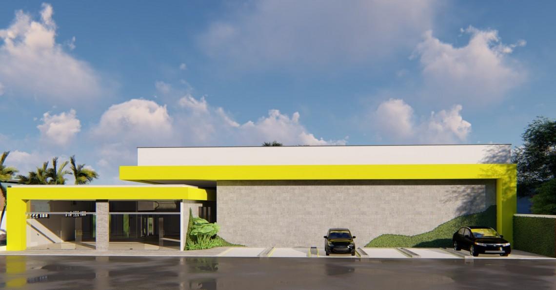 Sala Comercial & Fábrica, Santa Rita-PY